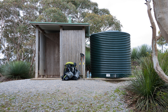 Cobbler Hill Toilet and Water tank